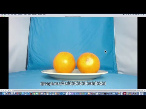 Take 1080p HD Webcam Pictures On The Mac With VLC Tutorial - Free Software Download C920
