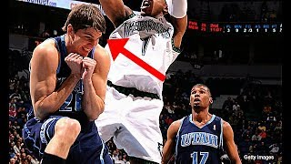 "NBA ""Scared"" Moments"