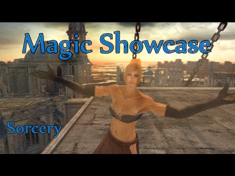 Dark Souls II ALL SORCERY SHOWCASE (M)
