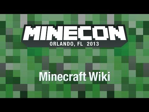 Minecraft Wiki MINECON 2013 Panel
