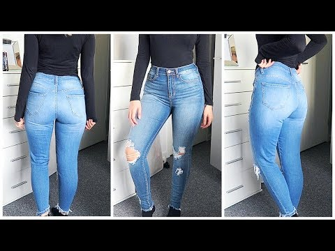Perfect Jeans for Curvy Girls | FashionNova TRY-ON HAUL !!