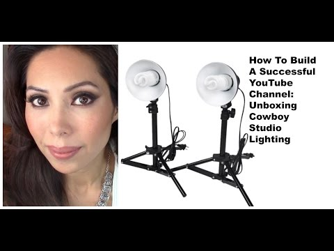 HOW TO BUILD A SUCCESSFUL YOUTUBE CHANNEL STUDIO LIGHTING