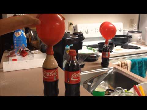 Gas Solubility Experiment with Soda