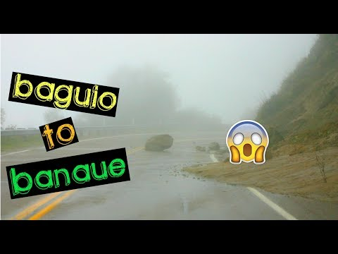 DRIVING to BANAUE in 5 HOURS only!! THICK FOG!! | ZERO VISIBILITY driving!! 😱