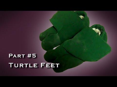 Making a Teenage Mutant Ninja Turtle Costume - Cosplay - Part 005