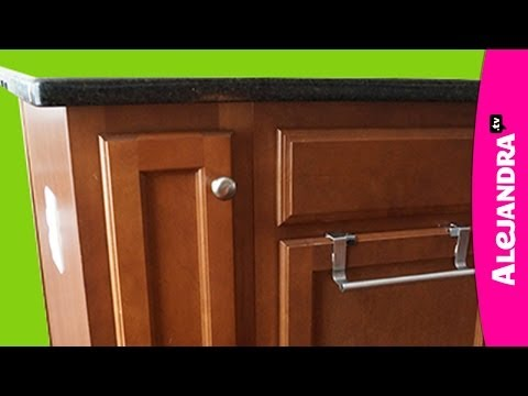 How to Organize a Narrow Kitchen Cabinet