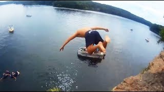 JUMP INTO WATER GONE WRONG fails pt.5 [FailForceOne]