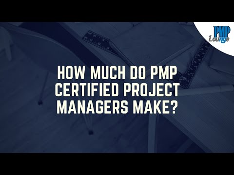 How much do PMP Certified Project Managers make?