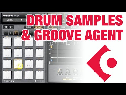 Using Cubase Drum Samples and Groove Agent