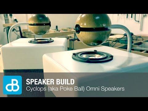 Cyclops (aka Poke Ball) Omnidirectional Speaker Build - by SoundBlab