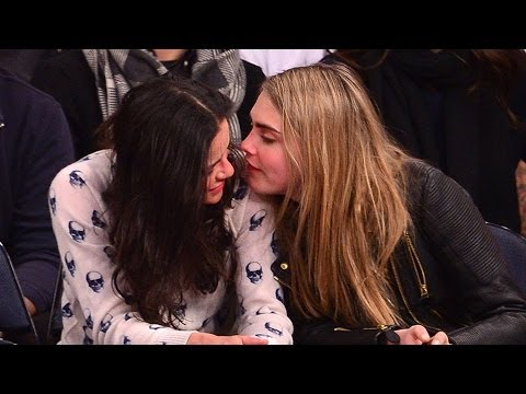 See Cara Delevingne and Michelle Rodriguez Making Out