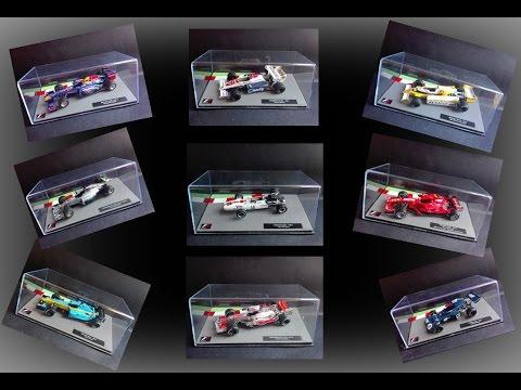 La mia collezione di vetture  F1 -  1° Parte