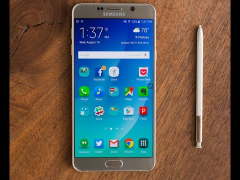 How to Scan Virus on Galaxy Note 5