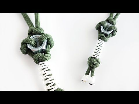 How to Make a Hex Nut Paracord Keychain Lanyard Tutorial