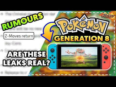 BIG RUMOURS/LEAKS! Generation 8 Pokémon Switch! NEW Battle System, NEW Pokémon, REGION and More!