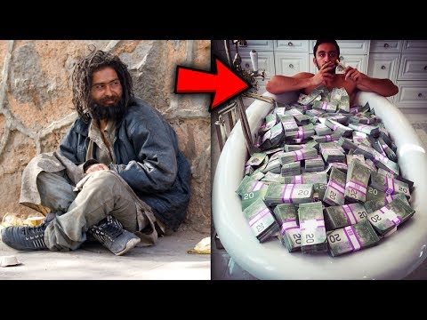 Top 5 Homeless People WHO WON THE LOTTERY
