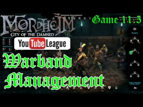 The Mordheim YouTube League - Warband Management - Round 3 Game 1.5 - Mordheim Gameplay - E. 11.5
