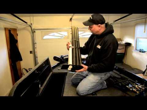 How To Modify Rod Storage On A Bass Boat
