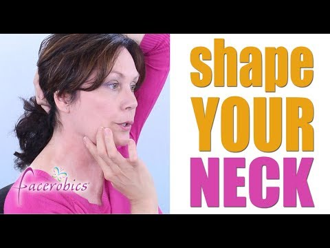 How to Shape Your Neck with Facial Exercise   FACEROBICS®