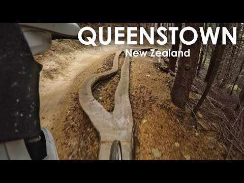 AWESOME DH TRAILS Queenstown Skyline Bike Park | GoPro