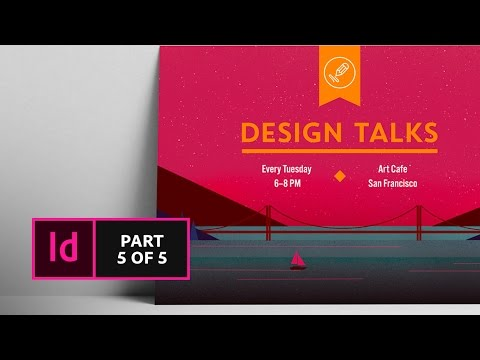 How to Create a Postcard in InDesign (5/5) | Adobe Creative Cloud