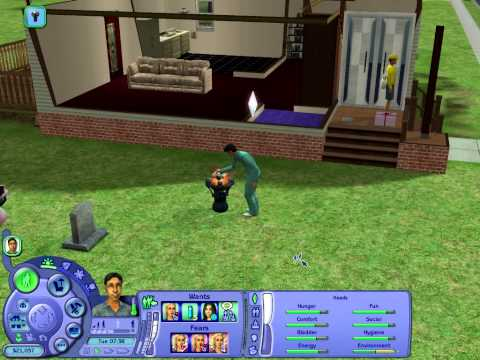 The Sims 2 - how to become a ZOMBIE