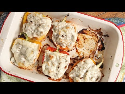 Cheese Steak Stuffed Peppers | Episode 1201