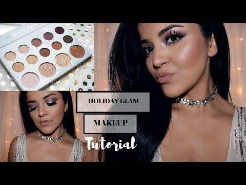 Holiday Glam Makeup   Carli Bybel Palette