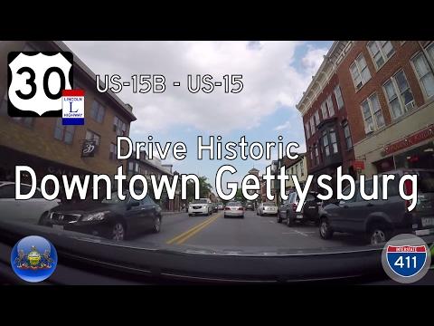 US Highway 30 - Gettysburg - US-15 - Pennsylvania | Drive America's Highways 🚙
