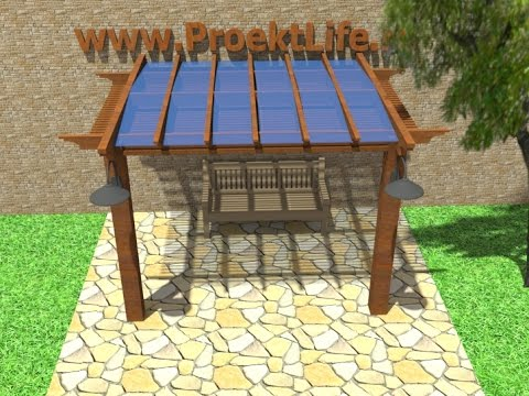 How to build a gazebo, pergola, canopy