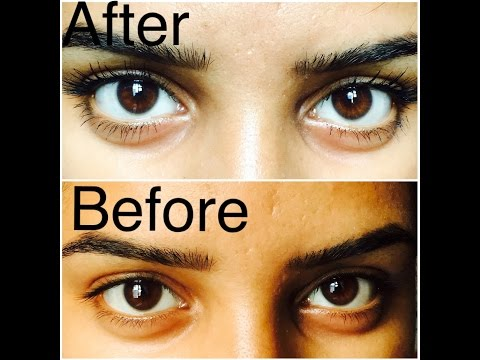 how to grow long and thick  eyelashes in a week using only one thing