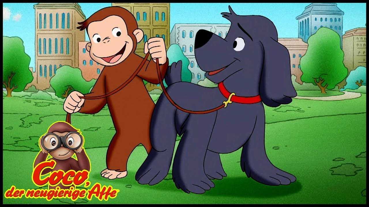 Coco der Neugierige Affe 🐵 Coco, der Hundetrainer 🐵 Cartoons für Kinder🐵 Coco der Affe Ganze Folgen