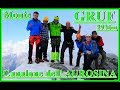 Monte GRUF 2936mt Versante N-Canalone dell'AUROSINA (Valchiavenna Bregaglia)