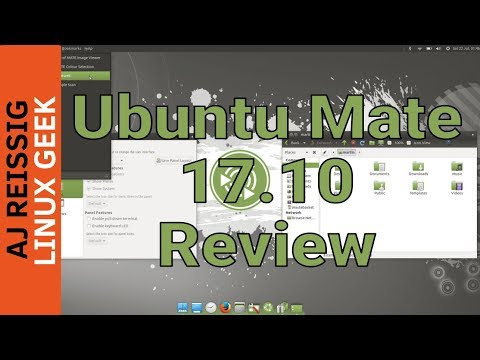 Ubuntu Mate 17.10 Review