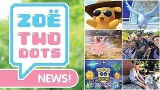 NEW PIKACHU, SHINY ARTICUNO, YOKOSUKA & MORE! Pokemon GO | ZoeTwoDots