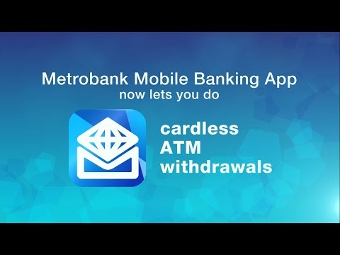 Metrobank Cardless Withdrawal