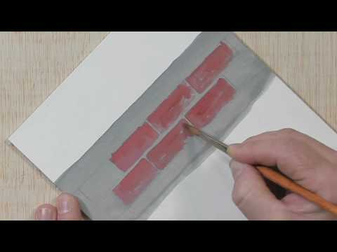 How to Paint Realistic Bricks