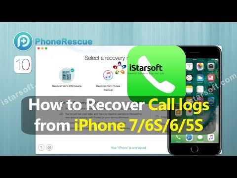How to Recover Call History from iPhone 7/6S/6/5S with iOS 10