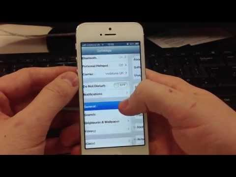 iPhone 5 - Activating and Deactivating personal hotspot + disabling mobile data