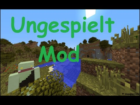 Minecraft - Ungespielt Mod [1.5.1]