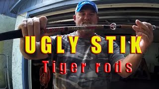 """Shakespeare Ugly Stik Review; Capt Dave talks """"Tiger rods"""""""