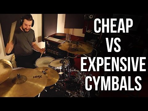 Cheap vs Expensive Cymbals