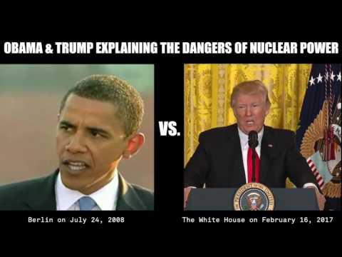 Obama vs. Trump Explaining Nuclear Dangers