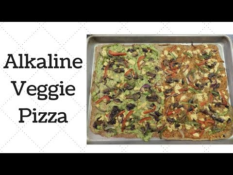 Veggie Pizza Dr.Sebi Alkaline Electric Recipe
