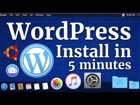 Wordpress blog on free hosting in 5 minutes