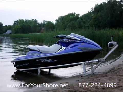 Portable Modular Drive-on PWC Jet Ski & Boat Lift Port