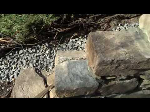 Drainage and retaining walls