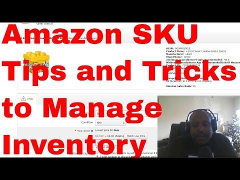 Amazon SKU Tips and Tricks for amazon fba sellers and more amazon tips and tricks