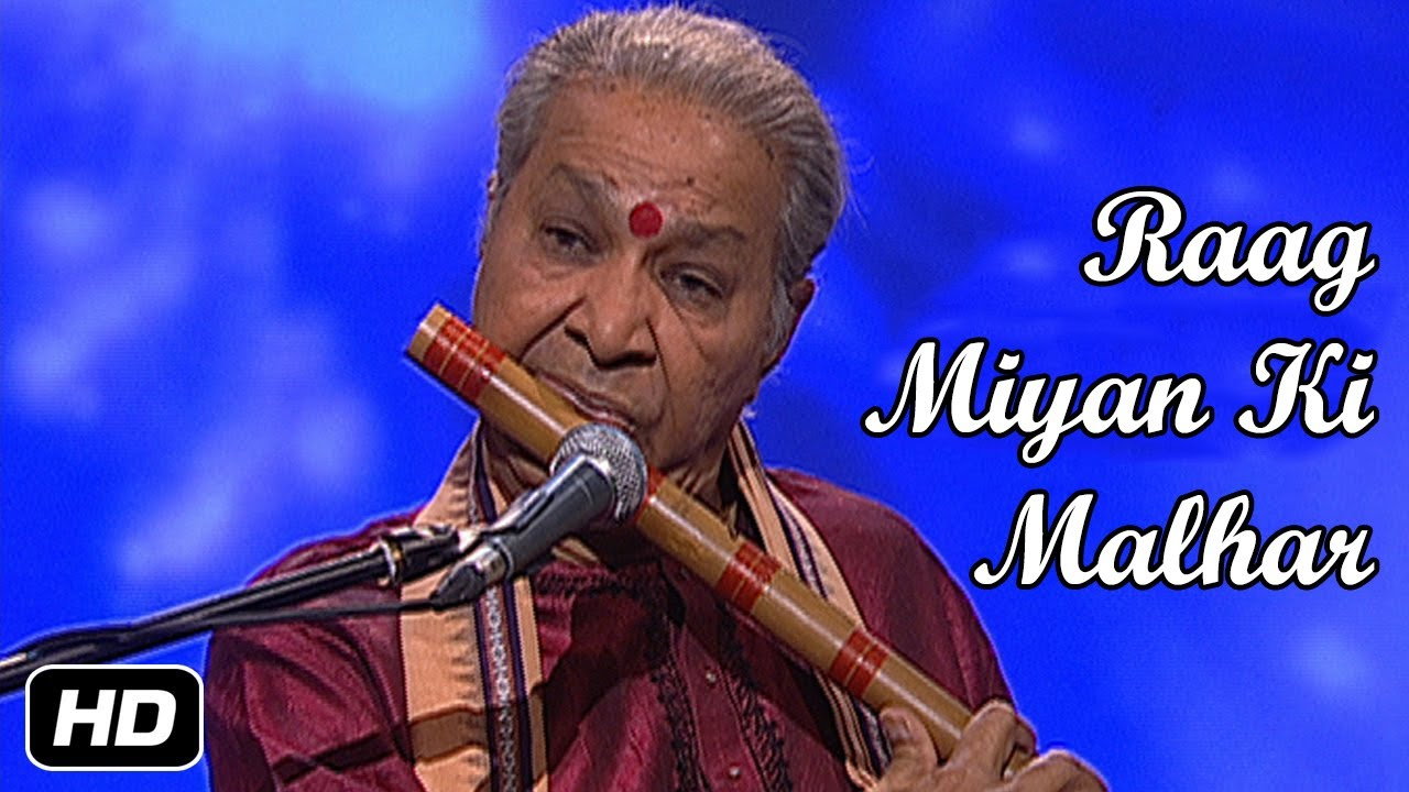 Raag MIYA KI MALHAR On FLUTE by Pt. Hariprasad Chaurasia