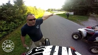 Angry People Yelling at Dirt Bike Riders